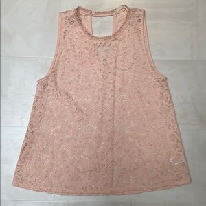 Anthropology Elodie lace top